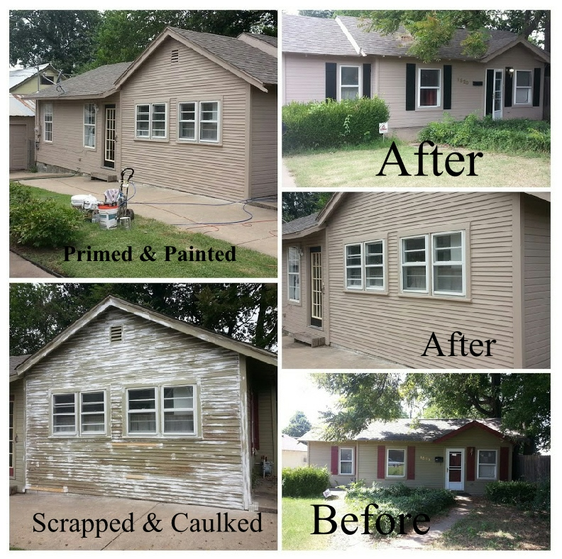 your local tulsa residential house exterior painting contractors