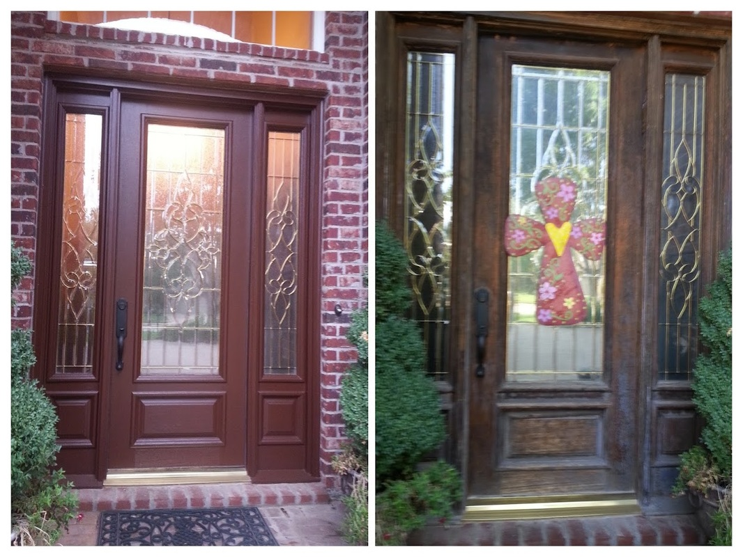 Picture front door painter tulsa & Your Local Tulsa Residential House Exterior Painting Contractors ...